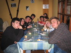 Gente de la excursión a Candanchú