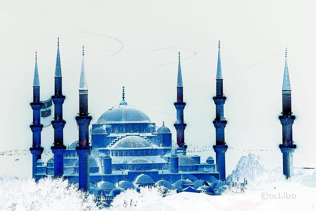 Blue Blue  Mosque Istanbul