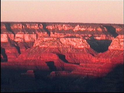 canyon al tramonto