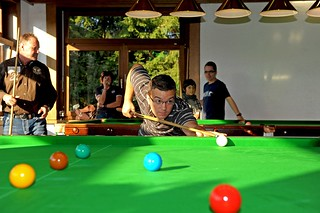 24. September 2011 | Eröffnung des 1. Snooker-Club Mayen-Koblenz mit Sascha Lippe | by Sportcenter Letzelter