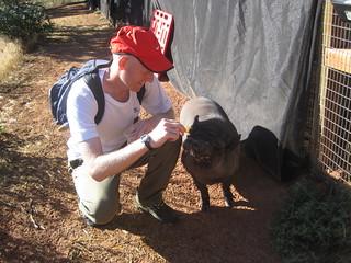 Walking Jeffrey at Best Friends Animal Sanctuary | by Peter Morville
