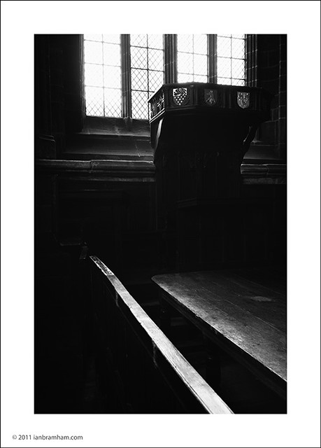 Chester Cathedral - Inside the Ecclesiastical Court