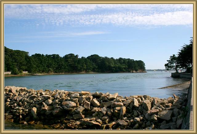 Île Berder - passage