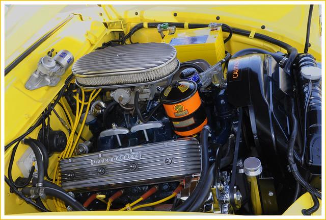 1955 Studebaker Engine Bay