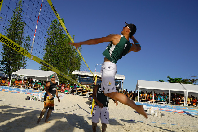 XIVème Jeux du Pacifique, Brendon Heath (Cook Islands), beach volleyball
