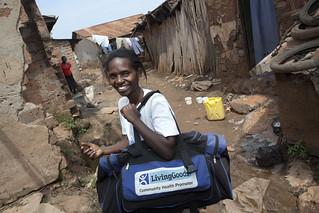 Zamin earns a living in Kampala's densest slum | by Living Goods