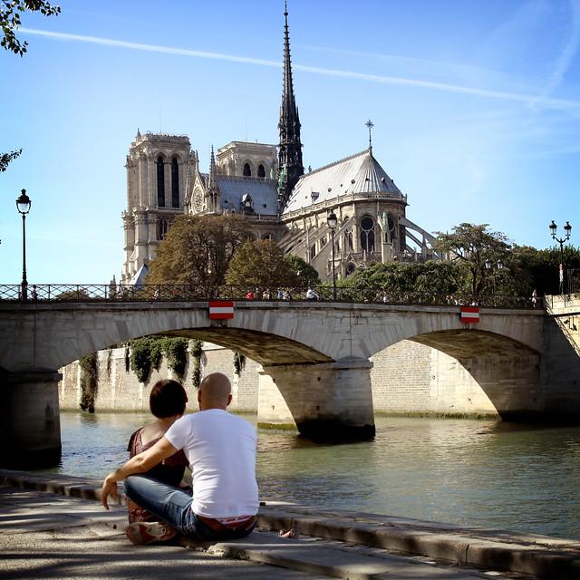 Paris, Cathédrale Notre Dame