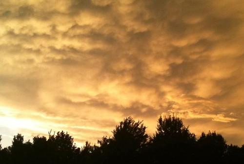 sky orange sun clouds skies august belarus lightplay iphotos minskregion phanipol