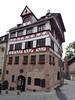 Norimberk, dům Albrechta Dürera, foto: Petr Nejedlý