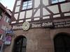 Norimberk, hospoda pojmenovaná po A. Dürerovi , foto: Petr Nejedlý