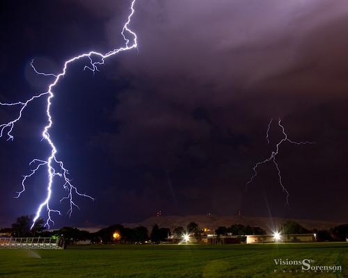 longexposure sky usa storm nature weather night clouds canon stars outdoors unitedstates hills idaho explore lightning lightningstrike pocatello electrifying ef24105mmf4lisusm 5dmkii craigsorenson visionsbysorenson atmosphericelectrostaticdischarge