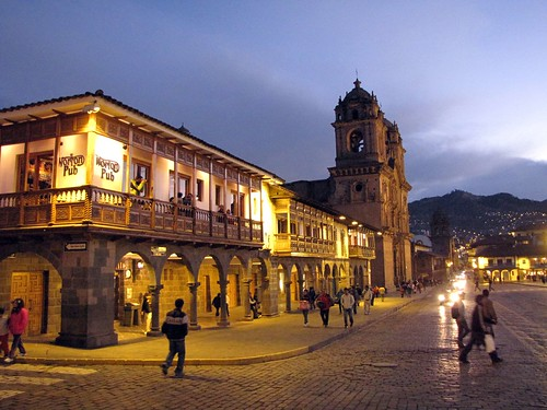 Cusco Plaza de Armas by night | by sergejf