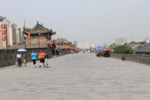 Xi'an wall covers 13.7km in length with 12 meters tall in China | by michelle.ongsc