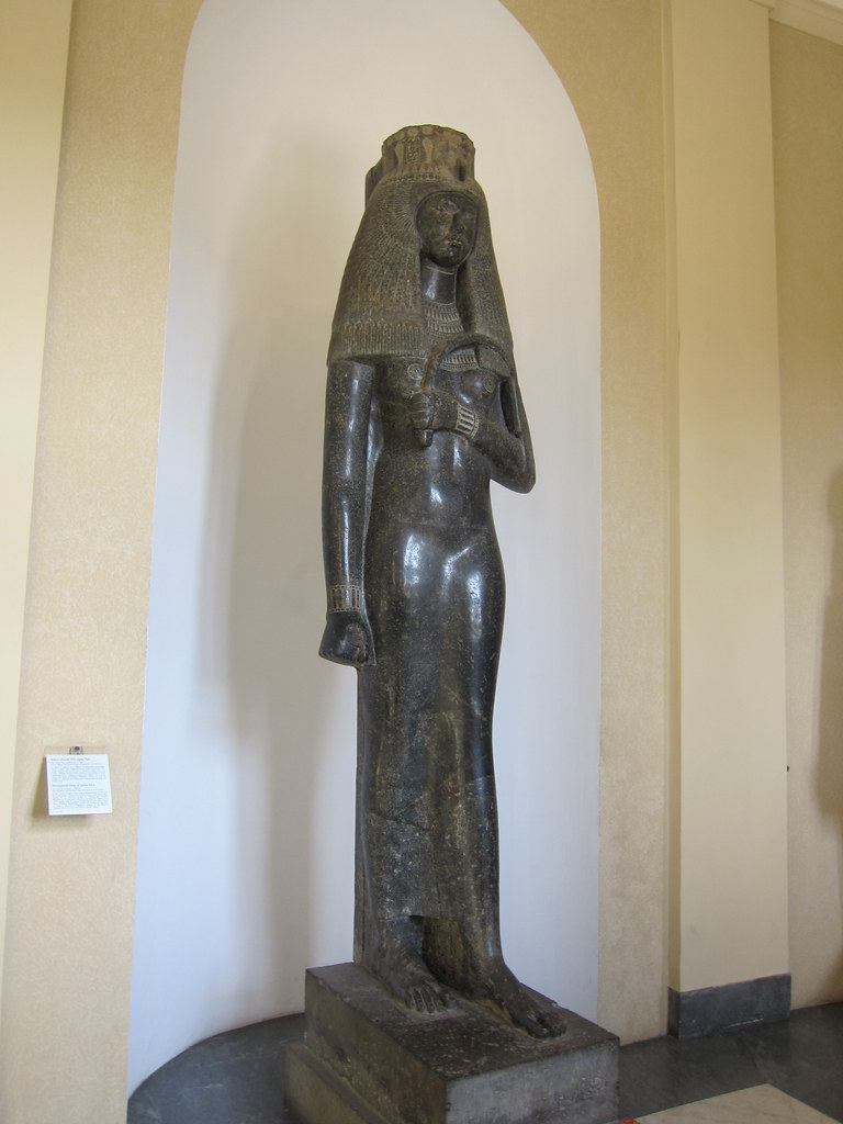 Monumental statue of Queen Tuya - collection of Vatican Mu…   Flickr