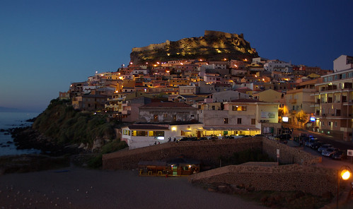 Castelsardo night | by Mario De Carli