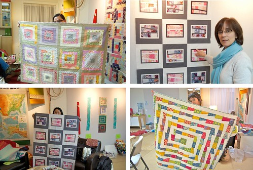 Quilts for Quake Survivors night | by Happy Zombie