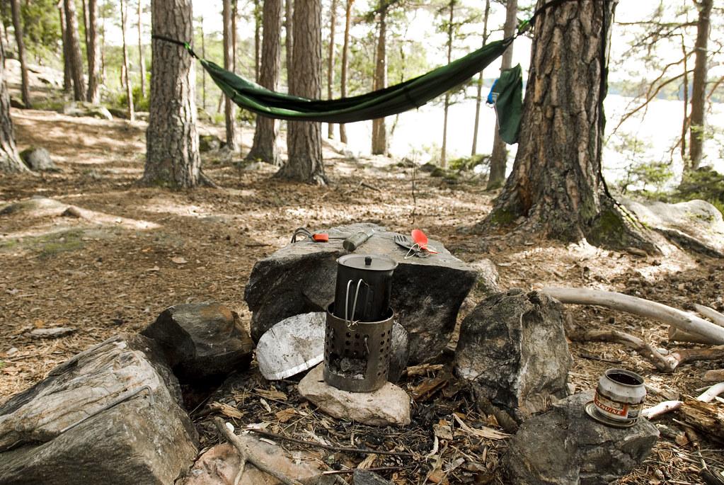 Sweden_Hammock Camping_canoe trip_143