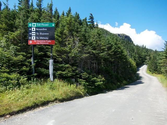 3:08:41 (73%): sign vermont hiking mtmansfield greenmountains mansfieldautoroad