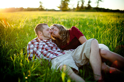 sunset ny cute beautiful happy golden engagement couple bokeh laugh backlit lowville bertpohlphotography chelseamatt