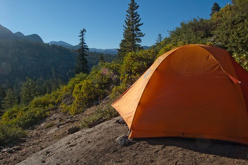 Tent on a Rocky Cliff | by osiristhe