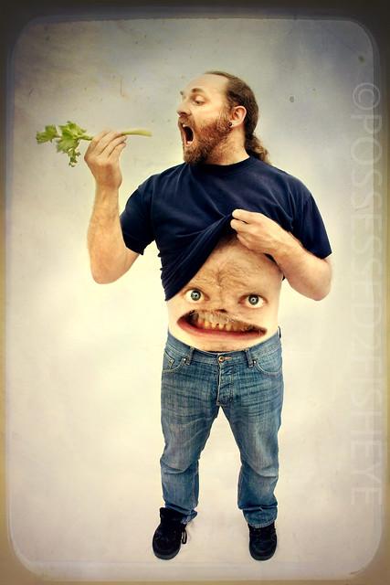 243/365 - Mr Tummy dosn't like celery