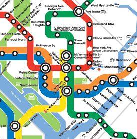 Wmata Subway Map.Wmata Subway Map Cropped Richard Layman Flickr