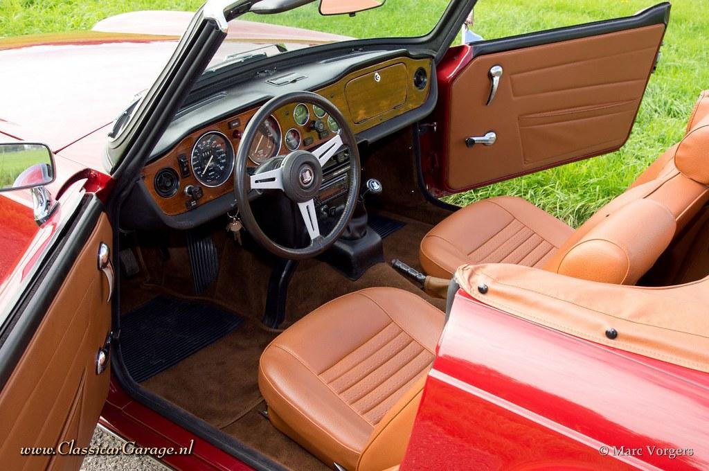 1972 Triumph Tr6 Interior Marc Vorgers Flickr