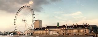 London Eye and County Hall | by Hexagoneye Photography