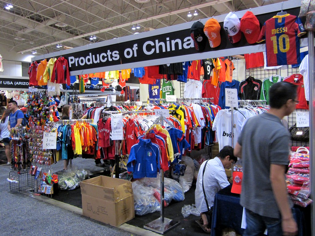 Made in China | One of the attractions at the Ex is a big bu… | Flickr