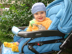 The blue-eyed happiness named Denis (Glivec baby) (Russia)