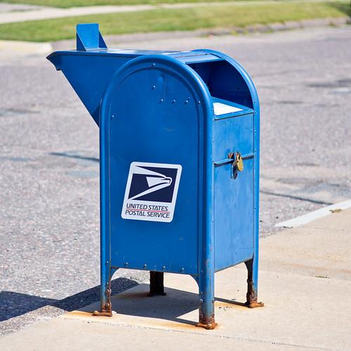 U.S. Postal Service Mailbox   by Graeme Pow