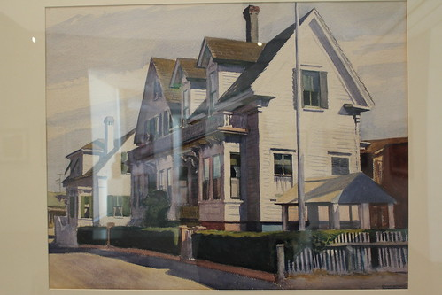 oklahoma painting edwardhopper landscapeart fredjonesjrmuseumofart houseatprovincetown