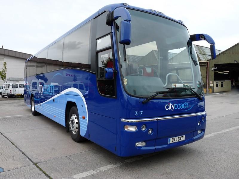 Plymouth Citycoach 317 BX11GVP