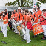 Edinburgh Samba School | Edinburgh Samba School were on hand with rousing drums to welcome everyone on opening day