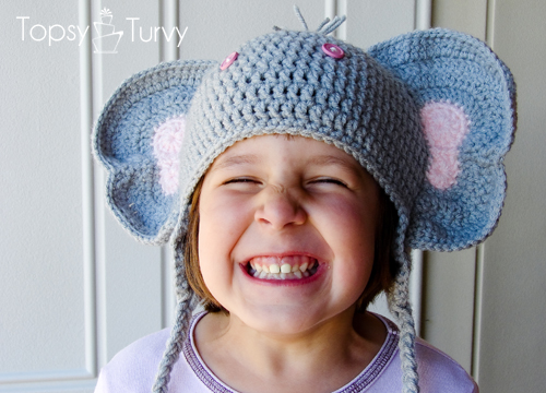 Crochet Baby Elephant Hat and Lion Brand Heartland Yarn Giveaway ... | 360x500