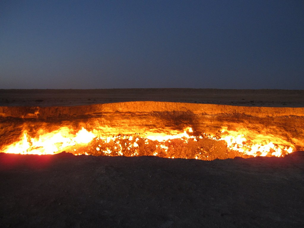 Turkmenistan and the Gates of Hell