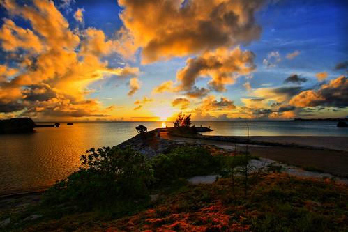 "japan 日本 okinawa 沖縄 海 hdr 日の入り photographyrocks kitamae colorphotoaward excapture thisphotorocks ""flickraward"" 北前 ""flickrtravelaward"""