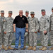 2011 Gov. Tom Corbett Visits Fort Indiantown Gap