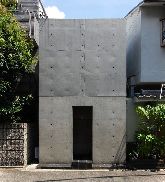 Row House in Sumiyoshi / Tadao Ando [住吉の長屋/安藤忠雄]