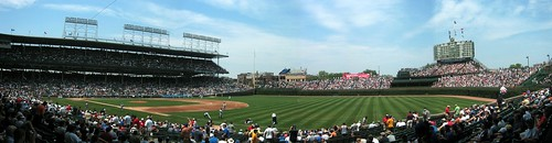 Chicago: Wrigley Field - Panoramic from Right Field | by wallyg