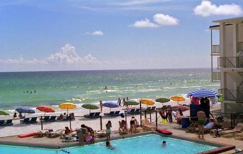 vacation beach pool florida motel americana panamacitybeach panamacity kocojim