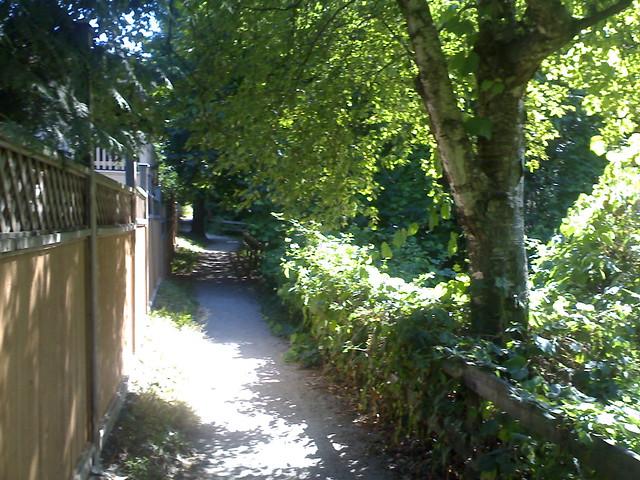 Nearing the End of Renfrew Ravine Trail