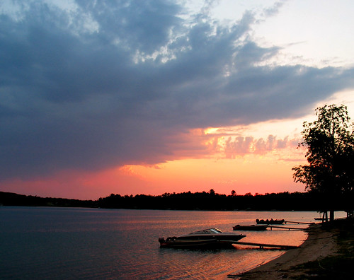 light sunset shadow vacation cloud lake color minnesota dark boats cabin upnorth nevis lakecabin parkrapids belletaine nevisminnesota