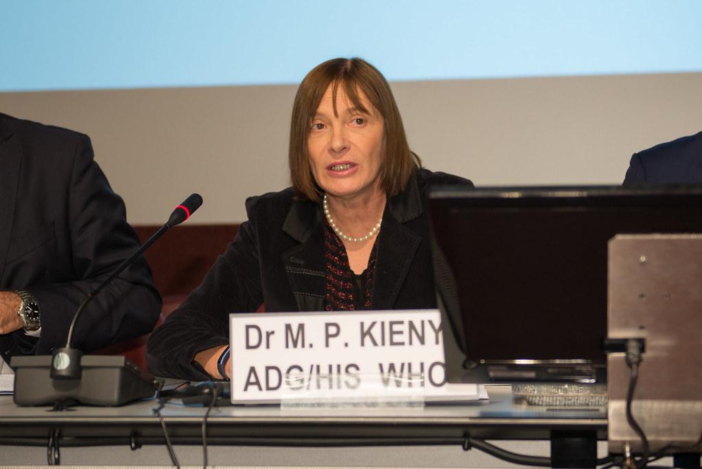 Dr. Marie-Paule Kieny | Assistant Director-General, Health S… | Flickr