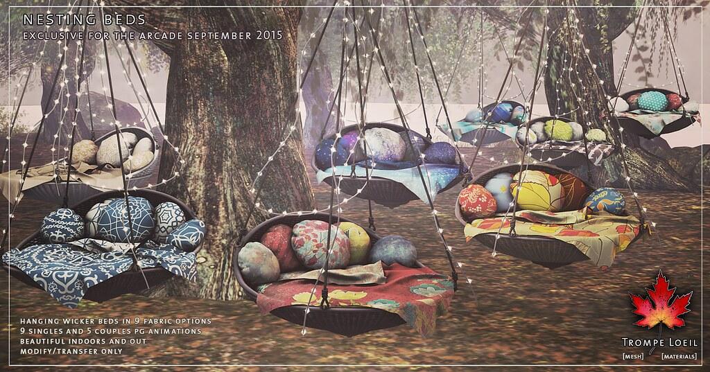 Trompe Loeil - Nesting Beds for The Arcade September