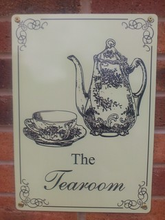 The Tearoom sign | by Vintage Rose Catering