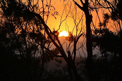 sunset laheyslookout