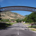 Arch over the main entrance to This Is The Place Heritage Park by procrast8