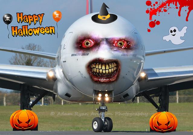Happy Halloween Everybody - 'BOOing 777'