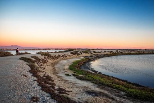 california sunset us unitedstates huntingtonbeach wetland bolsachica